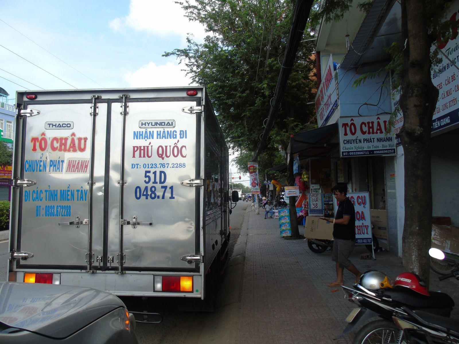 Xe vận chuyển hàng Tô Châu Mỹ Tho