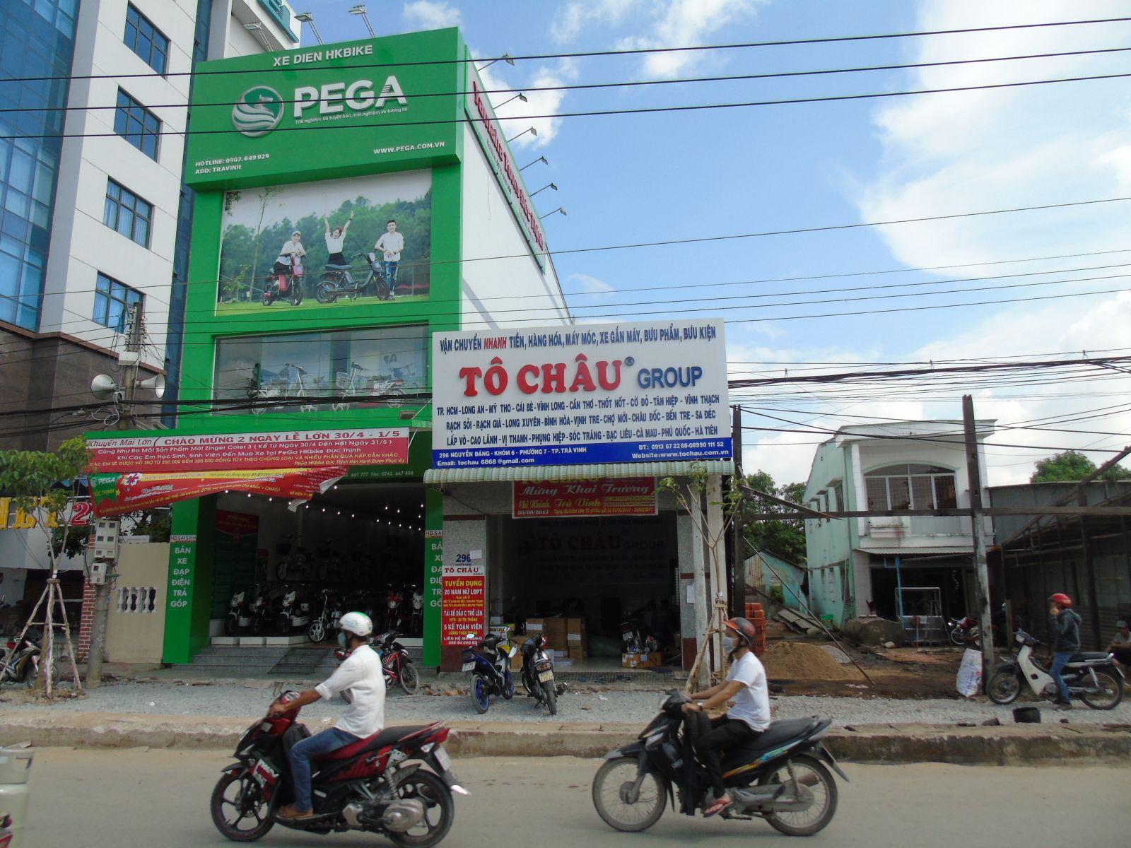 Tô Châu Trà Vinh vận chuyển hàng đi TP.HCM
