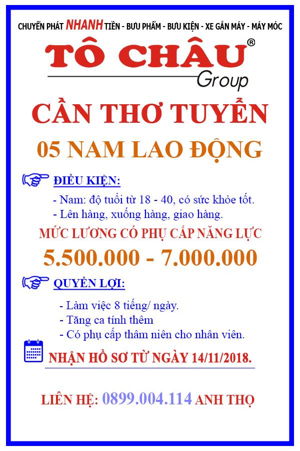 Tuyen lao dong pho thong gia cao