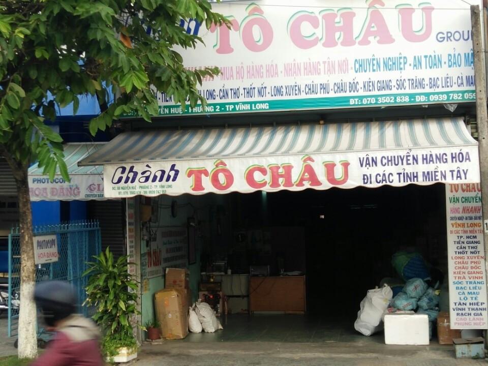 to chau vinh long van chuyen hang hoa